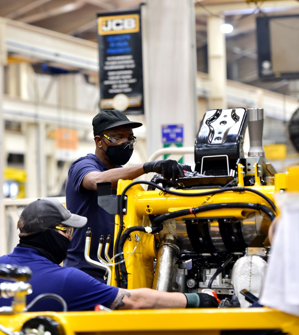 High demand for JCB Machinery creates 100 new welding jobs