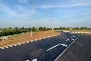 National Highways delivers vital road link in Huntingdon during A14 project