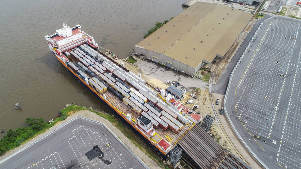 CG Railway completes maiden voyage of new Rail Ferry