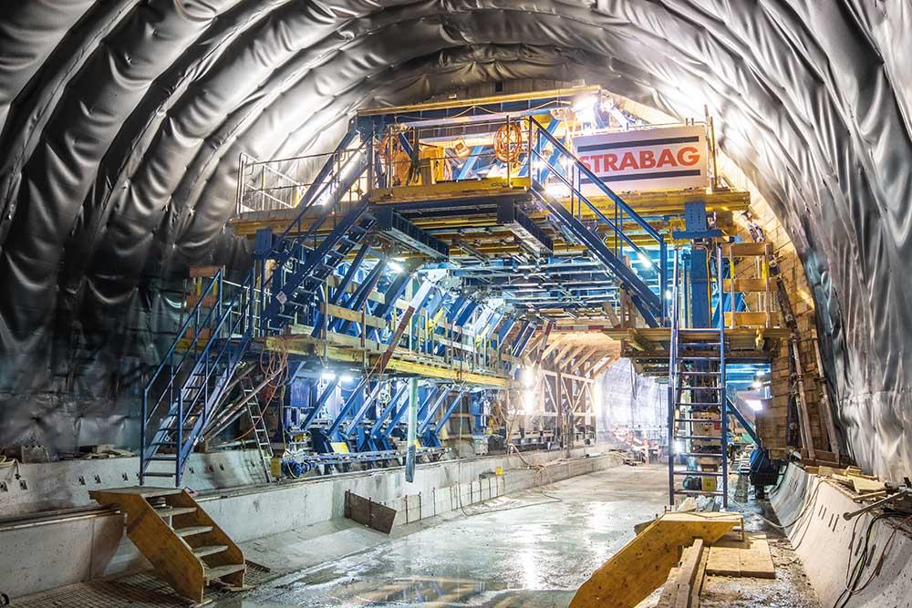 Baptism of fire – the rentable tunnel system Doka enjoyed its premiere outing on the Lochweidli project in Switzerland.