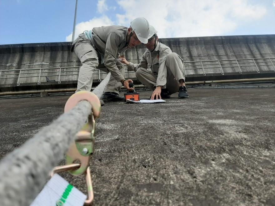 Using non-destructive Ground-Penetrating Radar to Ensure Dam Safety