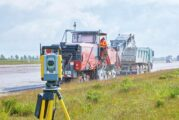 Leipzig Airport runway and taxiways resurfaced with Trimble 3D accuracy