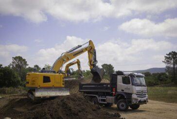 Liebherr R 936 Compact Crawler Excavator ticks the boxes on Corsica