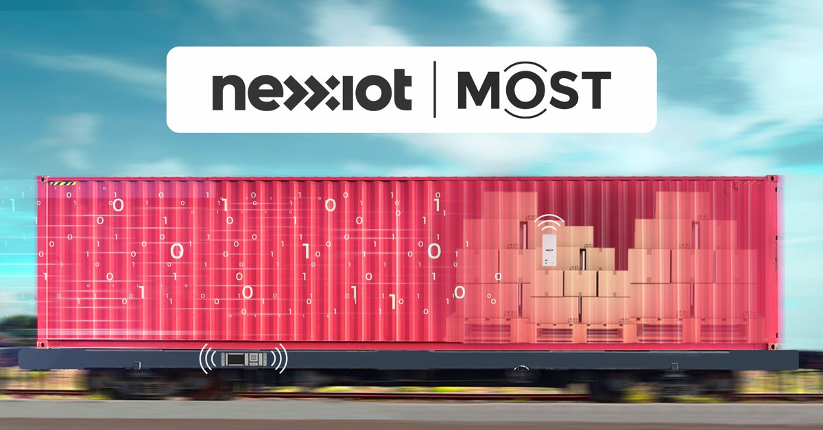 Nexxiot consolidates its leading position in Cargo TradeTech with MOST acquisition