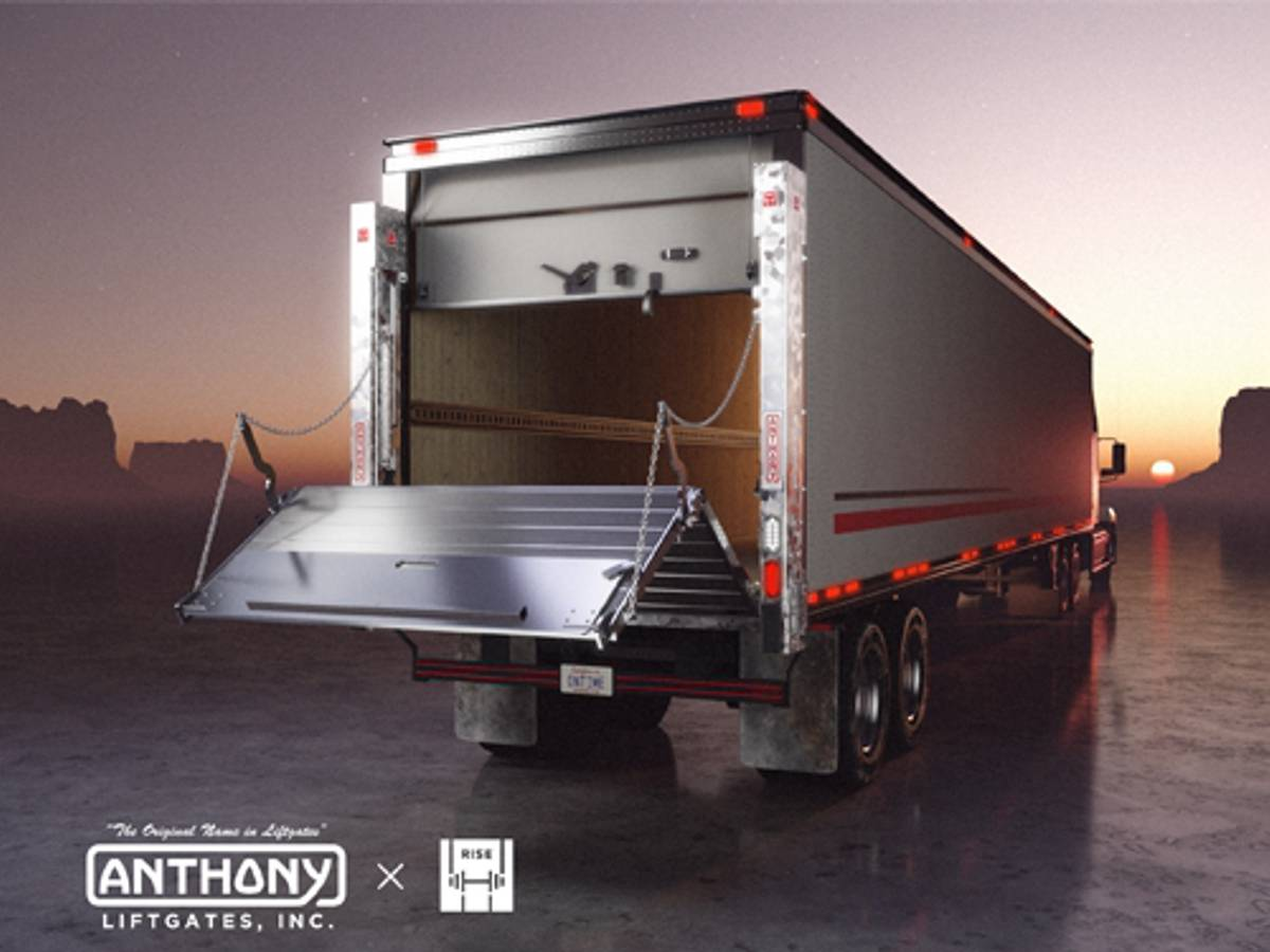 RISE Robotics partners with Anthony Liftgates for fluid-free electric liftgate rams