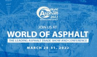World of Asphalt - 29 to 31 Mar 2022