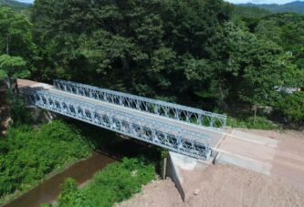 Acrow supplies 12 Modular Bridges to restore critical infrastructure in Honduras