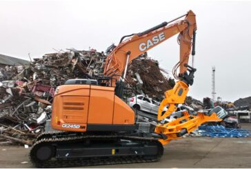 Case CX245DSR Short-Reach Excavator delivers sustainable recycling solutions