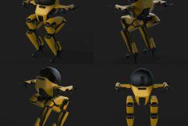 Caltech's bipedal Leonardo is a walking and flying hybrid robot
