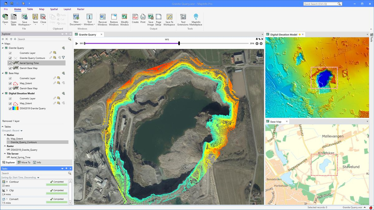 New MapInfo Pro release powers decision-making with critical location-based context