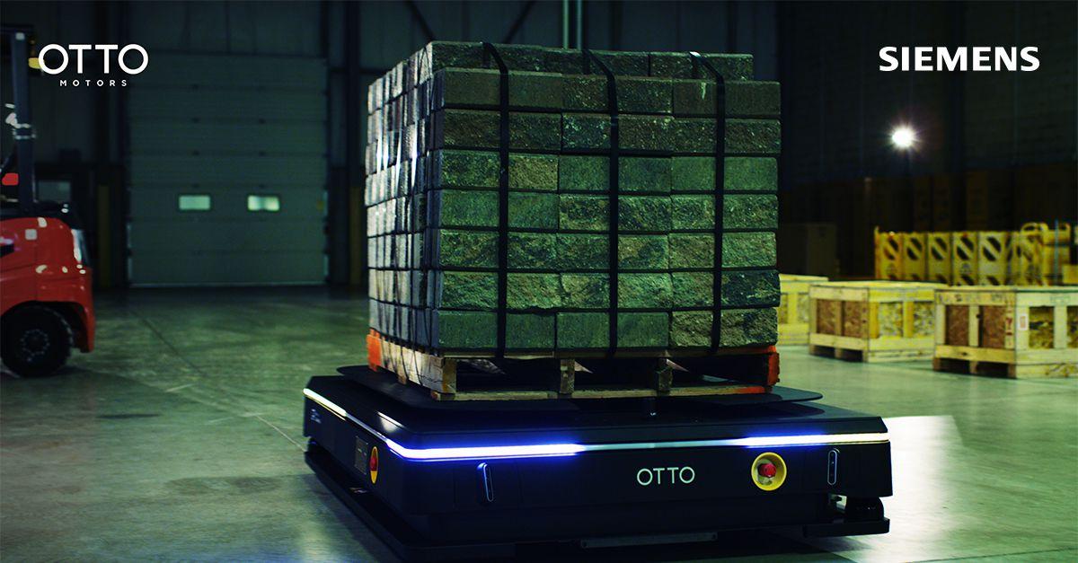 OTTO Motors and Siemens partnership drives Robot Material Handling solutions