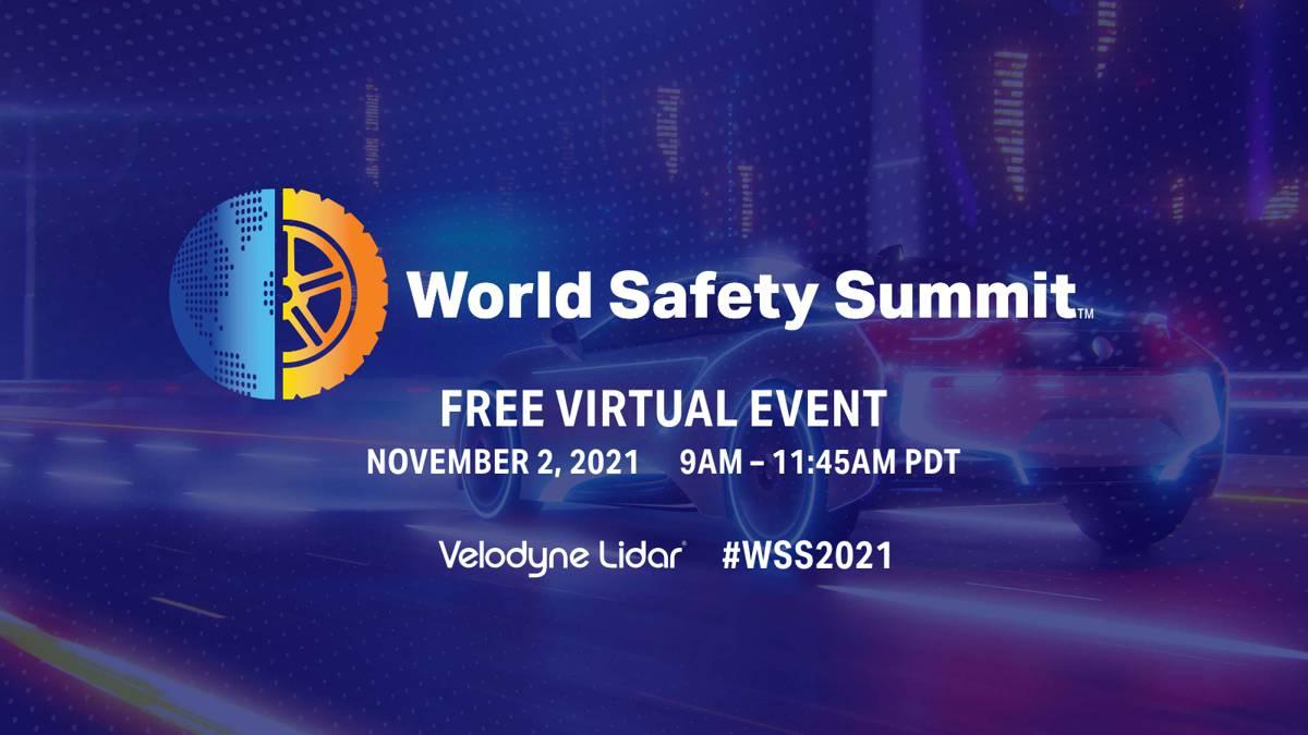 Velodyne Lidar to host World Safety Summit on Autonomous Technology
