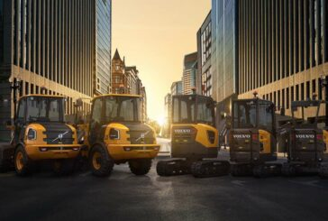 VolvoCE powers into the future with the largest range of electric machines