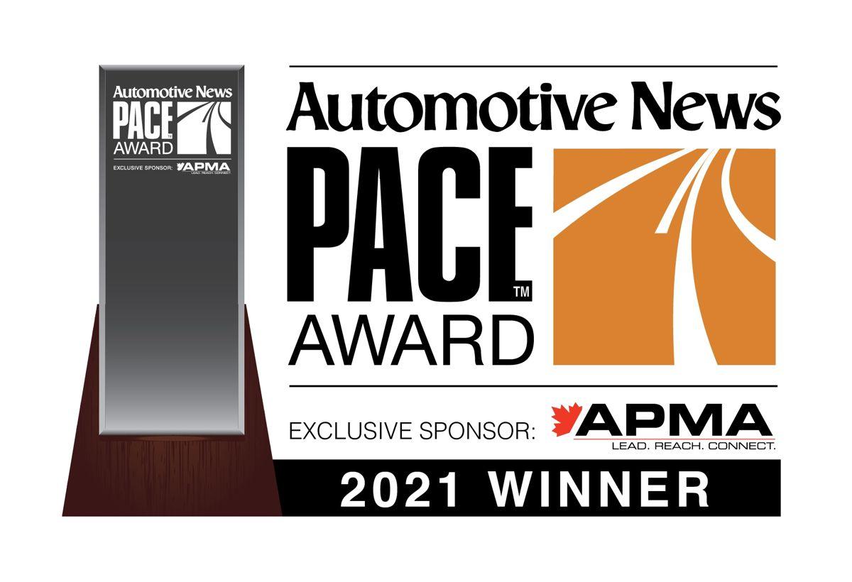 RoboSense wins 2021 PACE Award from Automotive News
