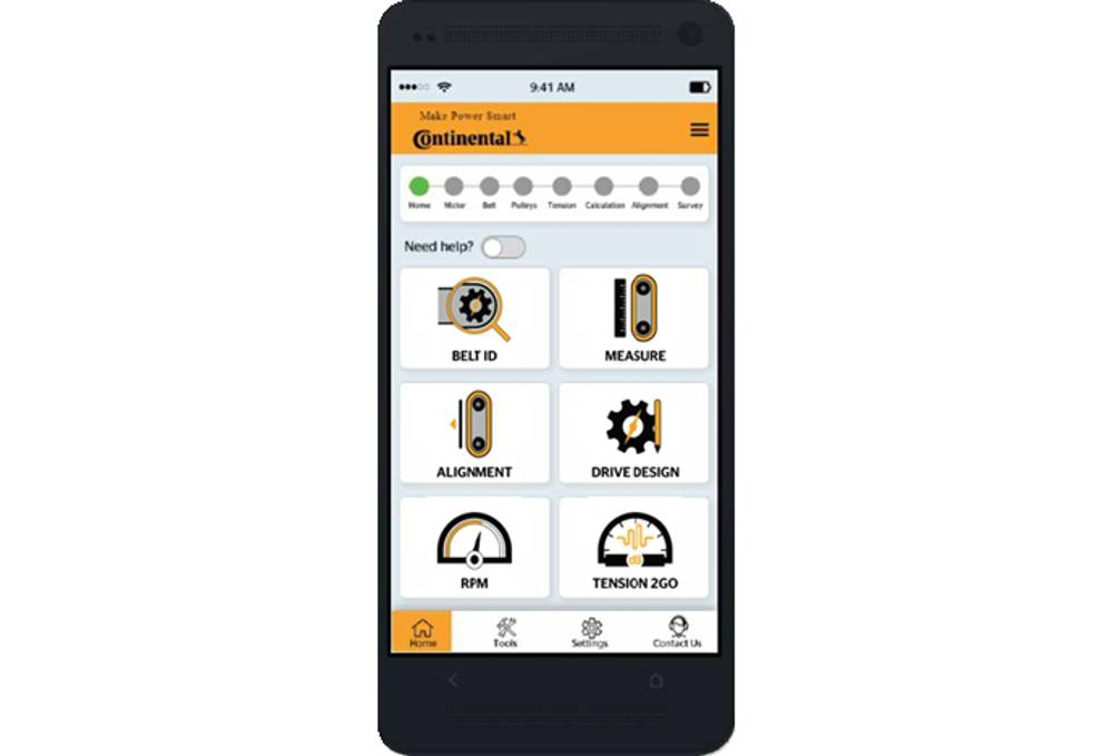 Make Power Smart, an app that helps manage drive systems, launched earlier this year.