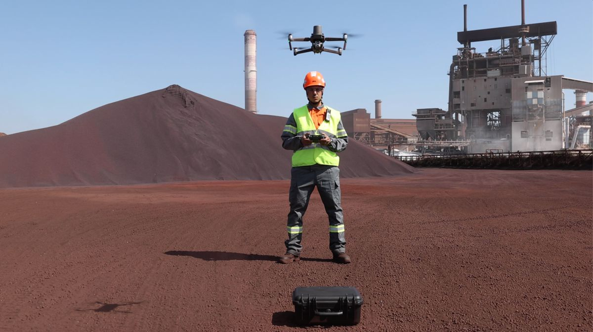 Drone Technology helping ArcelorMittal transform Inspections and Maintenance
