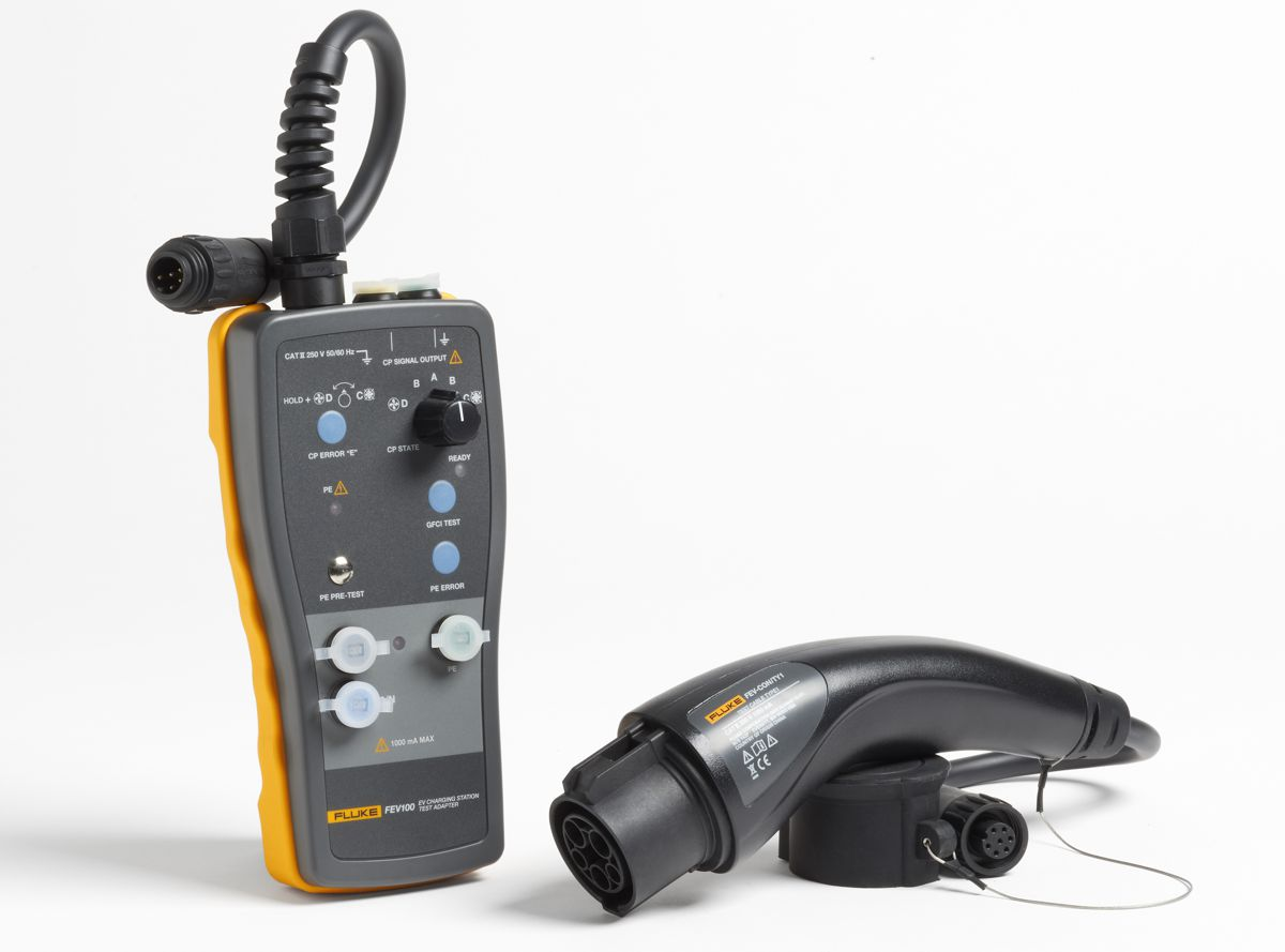 New Fluke FEV100 Electric Vehicle Charging Station Tester doesn't need an EV present