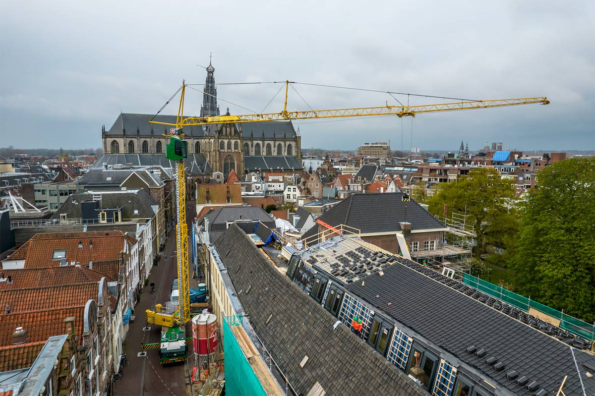 New Liebherr MK 73-3.1 mobile construction crane is perfect for construction sites