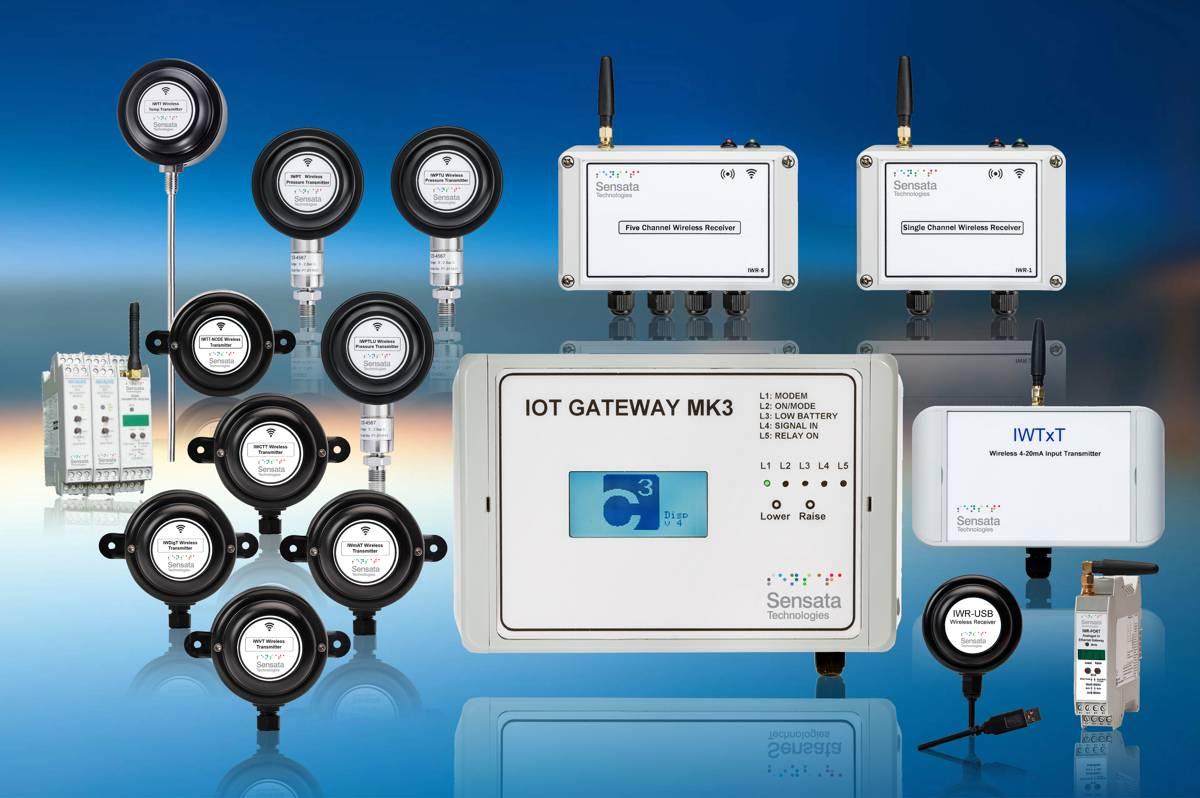 New Sensata industrial wireless technology simplifies IoT equipment connectivity