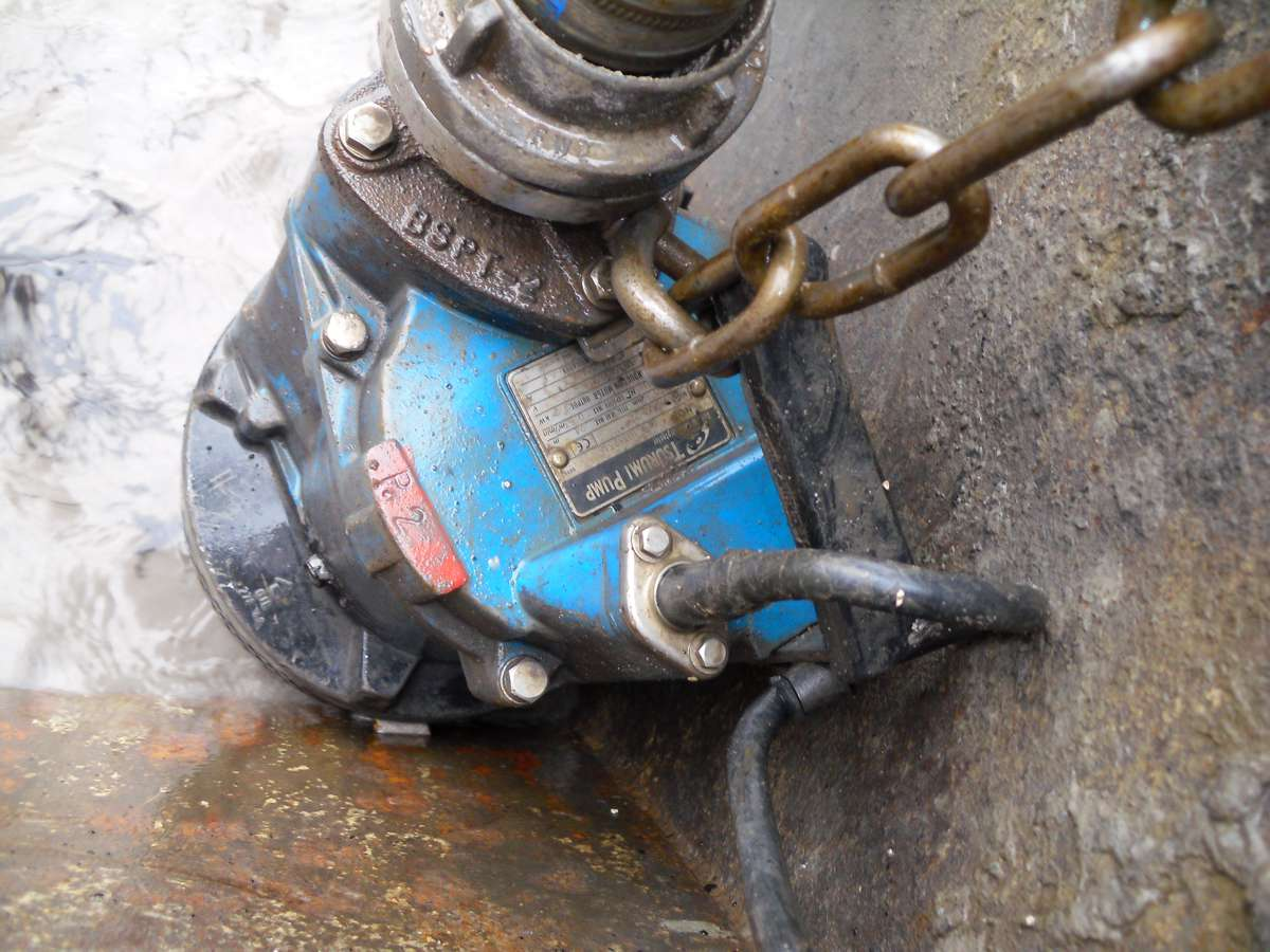 The biggest weak point in your Water Pump is the cable