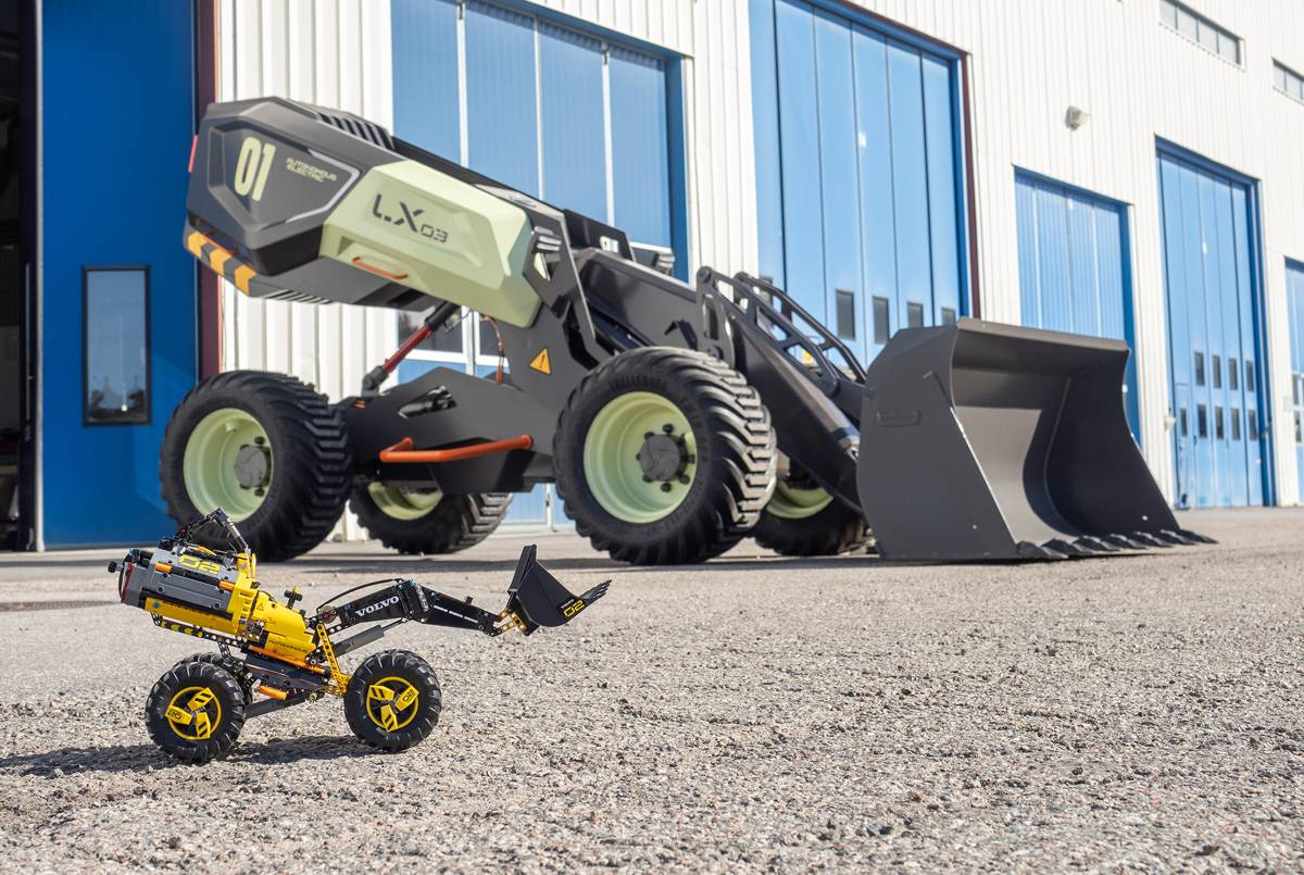 VolvoCE brings ZEUX Intelligent Construction to life